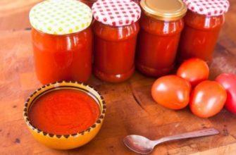 Klasyczny domowy ketchup