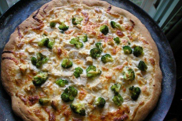 Nadzienie do pizzy z brokułami