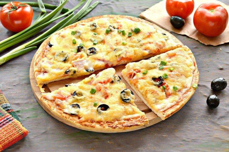 Nadzienie do pizzy z kurczakiem i oliwkami