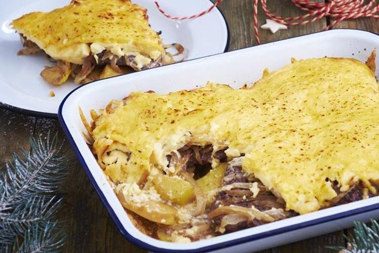 Francuskie mięso z ziemniakami w piekarniku - przepisy -