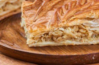 Ciasto francuskie z kapustą w piekarniku - przepisy kulinarne