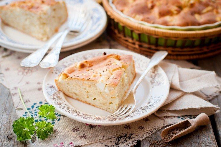 Ciasto z kapustą i szynką w piekarniku - przepisy kulinarne