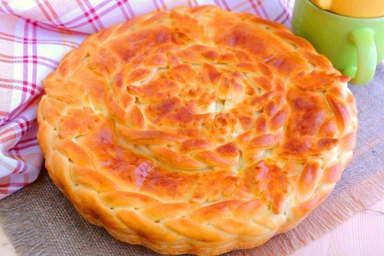 Ciasto z kapustą i fasolą w piekarniku - przepisy kulinarne