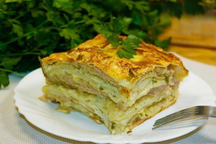 Ciasto z kapusty Pita w piekarniku - przepisy kulinarne