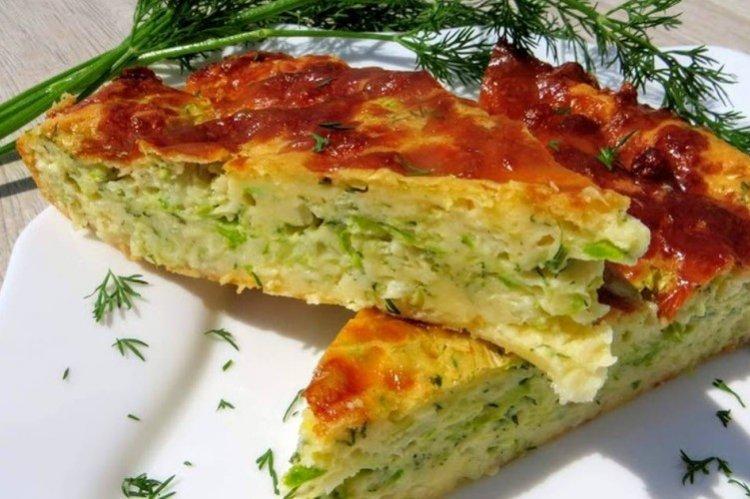 Ciasto z kapustą i cukinią w piekarniku - przepisy kulinarne