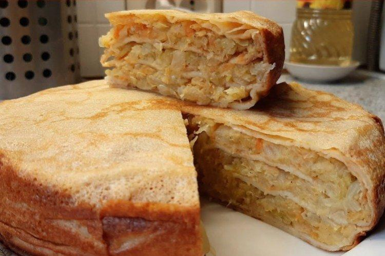 Ciasto z kapustą i soczewicą w piekarniku - przepisy kulinarne